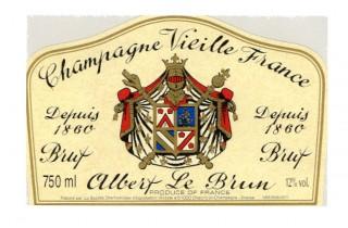 Champagne Viellie France