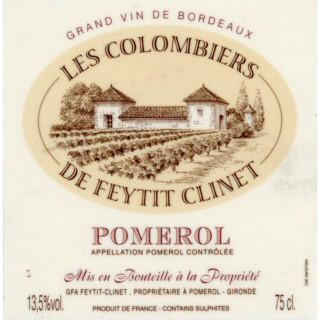 Les Colombiers de Feytit Clinet_Label
