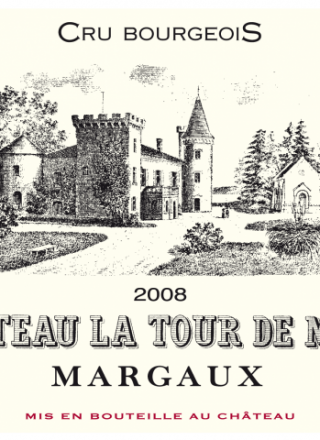 Chateau La Tour de Mons 2008_Label