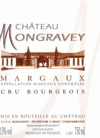 Chateau Mongravey_Label