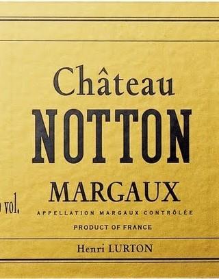 Chateau Notton_Label