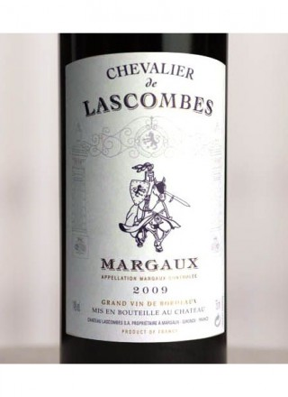 Chevalier de Lascombes 2009_Label