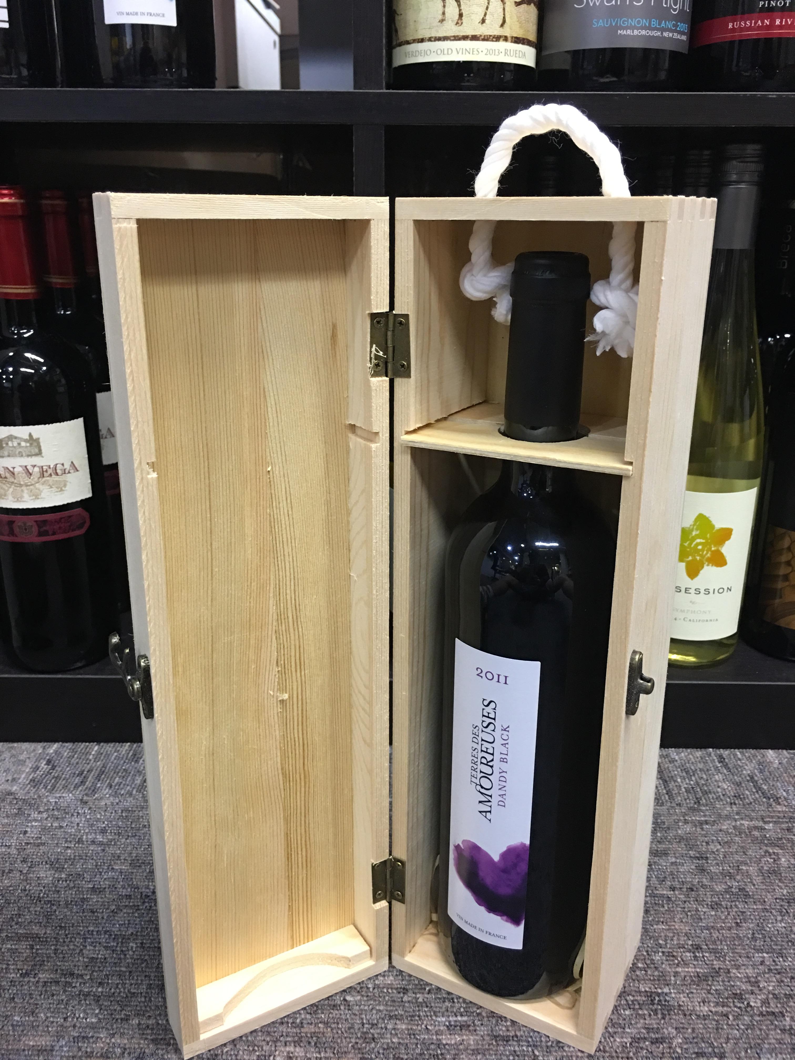 single wooden box2